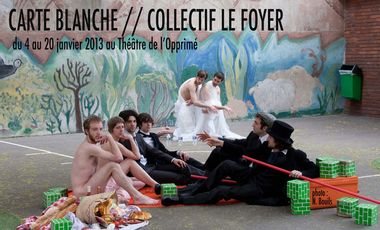 Project visual Carte blanche//Collectif le Foyer