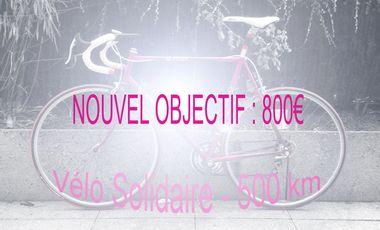 Visueel van project Vélo Solidaire - 500 km