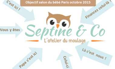 Visueel van project Septine and co objectif Salon du bébé