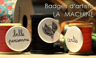 Visuel du projet Aidez à créer des badges délirants !!