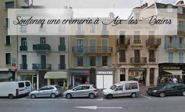 Project visual Ouverture d'une crèmerie à Aix-les-Bains