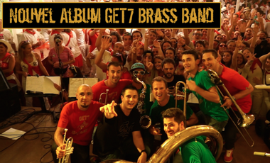 Visueel van project Nouveau CD Get7 Brass Band !!