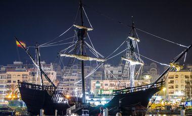 Visuel du projet Le bateau de Magellan à Honfleur !