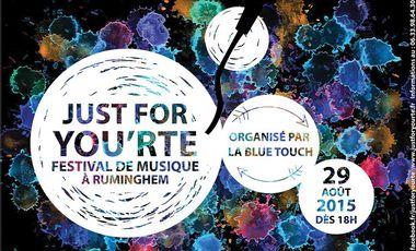Visuel du projet Just for You'rte - Festival de Musique