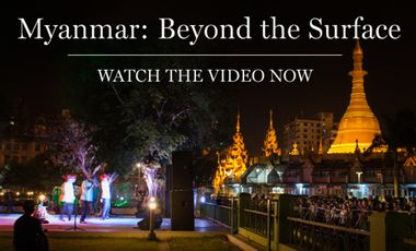 Visueel van project Myanmar: Beyond the Surface - The Book