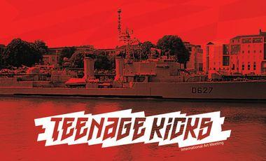 Project visual Teenage Kicks 2015 - Maillé-Brézé – Nantes