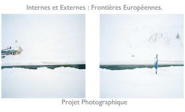 Visueel van project Internes et Externes : Frontières Européennes. Projet Photographique