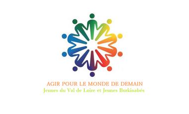 Visueel van project Agir pour le monde de demain, Jeunes du Val de Loire et Jeunes Burkinabés