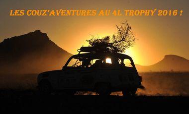 Visueel van project Les Couz'Aventures au 4L Trophy !