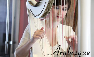 "Project visual Harpe classique, ""Arabesque"""