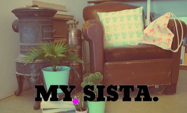 Visuel du projet MY SISTA - Marque de  Mode & Déco pour femmes.