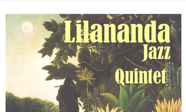 Visuel du projet lilananda jazz quintet nouvel album Live