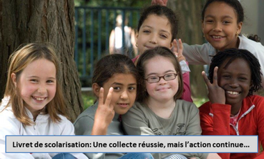 Project visual Aidez-nous à financer l'édition d'un livret de scolarisation d'un élève avec une trisomie 21