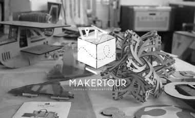 Visueel van project MakerTour - the fablab expedition