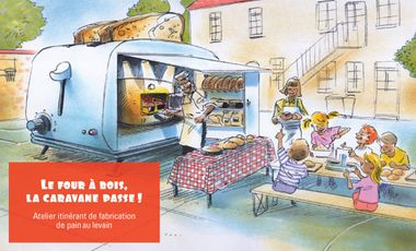 Visuel du projet Le four à bois, la caravane passe!