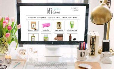 Project visual My Green Corner : e-shop green et éthique !