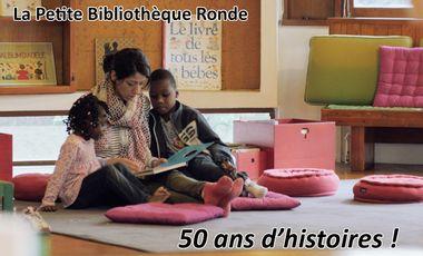 Project visual La Petite Bibliothèque Ronde : 50 ans d'histoires !