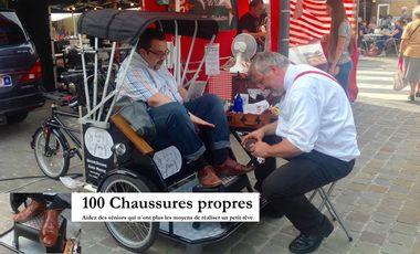 Visueel van project 100 chaussures propres