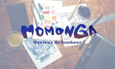 Project visual Momonga - Facteur de bonheur