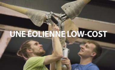 Visuel du projet Fabriquons ensemble une éolienne low-cost