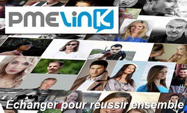 Visueel van project PMElink : le réseau social-Webzine qui booste la croissance des petites entreprises