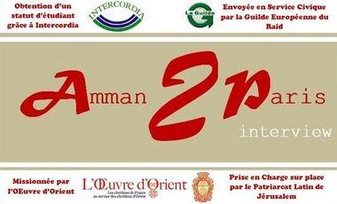 Visueel van project Amman2Paris interview