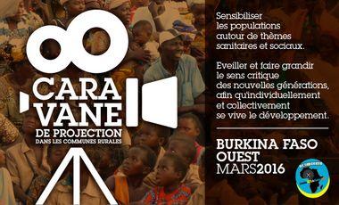 Visuel du projet CARAVANE DE PROJECTION DANS LES COMMUNES RURALES AU BURKINA FASO