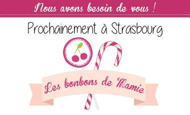 Visuel du projet Les bonbons de Mamie - magasin de bonbons