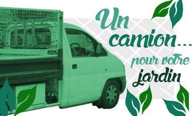 Visuel du projet Un camion pro pour Axe Jardin