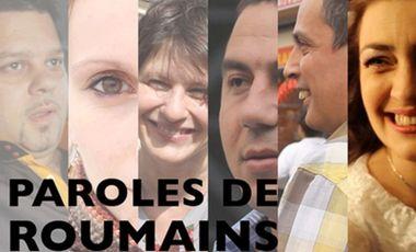Project visual Paroles de Roumains