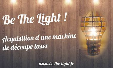 Visuel du projet Be The Light - Heureux soient les fêlés car ils laisseront passer la lumière.