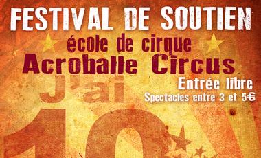 Visuel du projet Festival de soutien d'Acroballe Circus