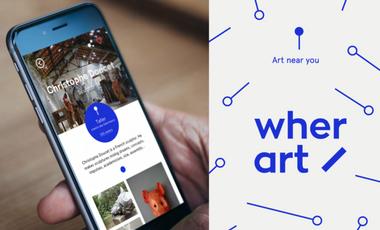 Visueel van project WHERART - L'ART PRES DE CHEZ VOUS / ART NEAR YOU