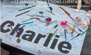 Visueel van project Nous étions Charlie