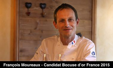 Visueel van project François Moureaux - Candidat Bocuse d'or