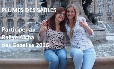 Visuel du projet Aidez deux jeunes bordelaises à participer au Rallye Aïcha des Gazelles 2016