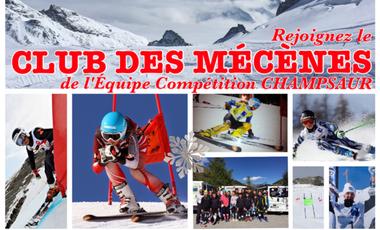 Visuel du projet Rejoignez le Club des Mécènes de l'Equipe Compétition Champsaur (ski)