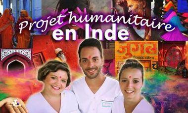 Visueel van project Namasté : Projet humanitaire infirmier à Pondichéry