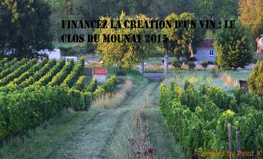 Project visual Financez la création d'un vin : Le Clos du Mounat 2015