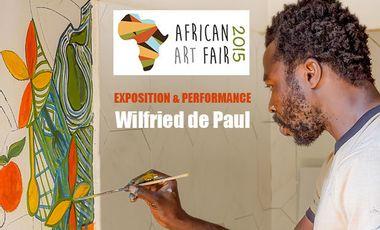 Project visual Wilfried de Paul s'expose à la African Art Fair - Paris