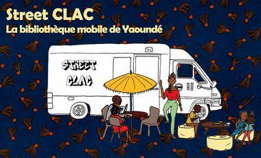 Visuel du projet Street CLAC, la bibliothèque mobile de Yaoundé