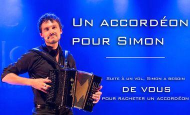 Project visual Un accordéon pour Simon