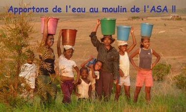 Visuel du projet Apportons de l'eau au moulin de l'ASA !!