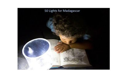 Visueel van project 50 Lights for Madagascar