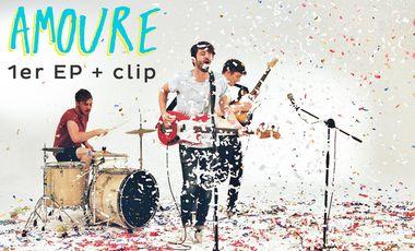 Visueel van project AMOURE - 1er EP + CLIP
