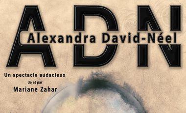 Visueel van project ADN Alexandra David Neel