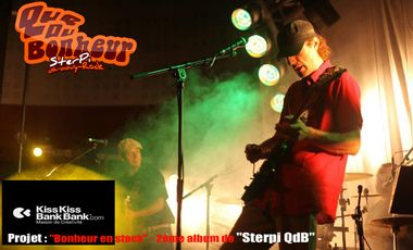 """Visueel van project """"Bonheur en stock"""" - 2ème album de """"Sterpi QdB"""" -"""