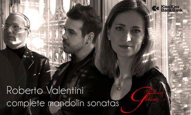 Visueel van project Roberto Valentini – complete mandolin sonatas