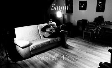 Visuel du projet Enregistrement du deuxième EP de Sayin !