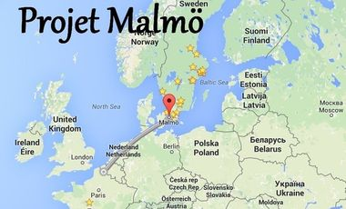 Visueel van project Projet Malmö, prisons suédoises